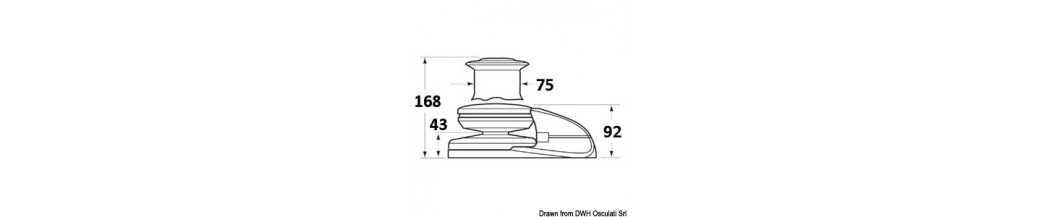 Guindeau LEWMAR V2 bas/haut 700 W