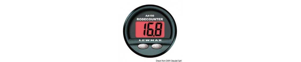 Compteur de chaine LEWMAR avec alarme acoustique
