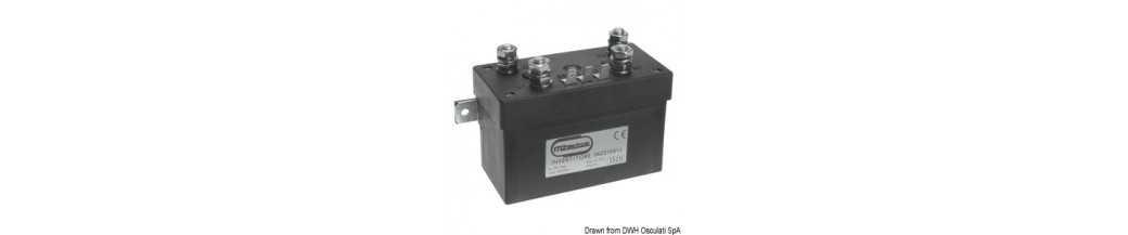 Boîtier de contrôle MZ ELECTRONIC compteurs/inverseurs