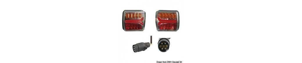Kit de feux à LED indépendants sans fil